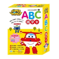 Super Wings ABC識字卡 C674152-1 世一 (購潮8)