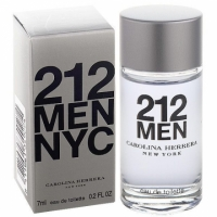 Carolina Herrera 212 MEN 都會男性淡香水 7ml 小香水