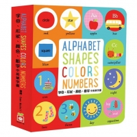 Alphabet、Shapes、Colors、Numbers 【字母、形狀、顏色..