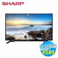 SHARP 45吋FHD聯網液晶電視 LC-45LE380T