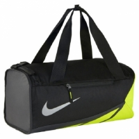 【Nike】VAPOR MAX AIR DUFFEL SMALL 2.0 旅行袋 黑/綠 -BA5249010