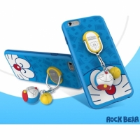 【APPLE】ROCK iPhone6S PLUS 5.5吋 哆啦A夢 指環支架手機殼 保護殼