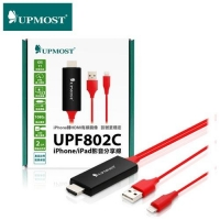 UPMOST登昌恆 UPF802C iPhone/iPad影音分享線