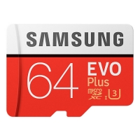 SAMSUNG三星 EVO PLUS microSDXC UHS-I 64GB 記憶卡