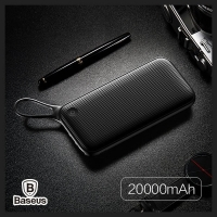 【Love Shop】Baseus倍思 勁能量 掛繩式行動電源 QC3.0 20000mAh 掛繩設計 三輸出
