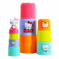 【Hello Kitty】Stacking Cups 杯子疊疊樂