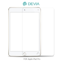 --庫米--DEVIA Apple iPad Pro 晶鋼玻璃貼 0.33mm 厚度 2.5D弧邊