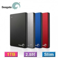 Seagate 希捷 USB3.0 1TB 1T Backup Plus slim 2.5吋行動硬碟