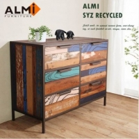 ALMI SYZ RECYCLED~CHEST 6 DRAWERS 六抽斗櫃