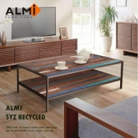 ALMI SYZ RECYCLED~120x70 2 LEVELS 咖啡桌