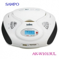 聲寶 SAMPO  (CD/MP3/USB/SD)手提音響 AK-W1013UL