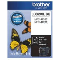 【Brother】Brother LC669XL BK 黑色傳真機墨水匣