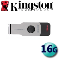 【Kingston 金士頓】16GB DTSWIVL DataTraveler SWIVL USB3.1 隨身碟
