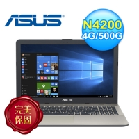 ASUS 華碩 X541NA-0021AN4200 15.6吋筆電 黑