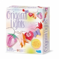 【4M】美勞創作系列-閃亮摺紙燈 Creat Your Own Beautiful Origami Lights(00-02761)