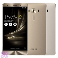 【ASUS】ZenFone3 Deluxe ZS570KL 5.7吋頂級品味旗艦機(4G/32G)-贈專用皮套+9H鋼保+韓版包+支架