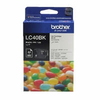 LC40BK brother 原廠黑色墨水匣 適用 MFC-255CW/ DCP-375CW / DCP-195C