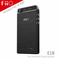 【風雅小舖】【FiiO E18隨身Android USB DAC耳機功率擴大器】SAMSUNG S4/HTC New One/SONY Z1/LG G2等Android手機都可使用