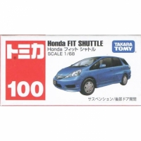 TOMICA【TM100 HONDA FIT SHUTTLE-藍39272】