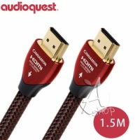 【A Shop】美國 Audioquest CINNAMON HDMI 數位線 支援4K 3D -  1.5M