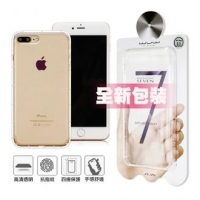 【Apple】【正版包裝】WUW Apple iPhone 8 Plus / iPhone 7 Plus / i7+ 5.5吋 氣墊簡約防摔保護殼(iPhone 8 Plus)