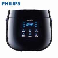 【Philips 飛利浦】Viva Collection 電子鍋-黑色 HD3060