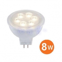 【好商量】舞光 8W LED MR16 杯燈 投射燈 DC 12V(LED-MR166D/WR3)