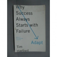 【書寶二手書T5/勵志_ZDT】Adapt: Why Success Always Starts with Failur